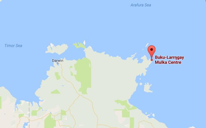 Buku-Larrŋgay Mulka Centre, Yirrkala, Northern Territory