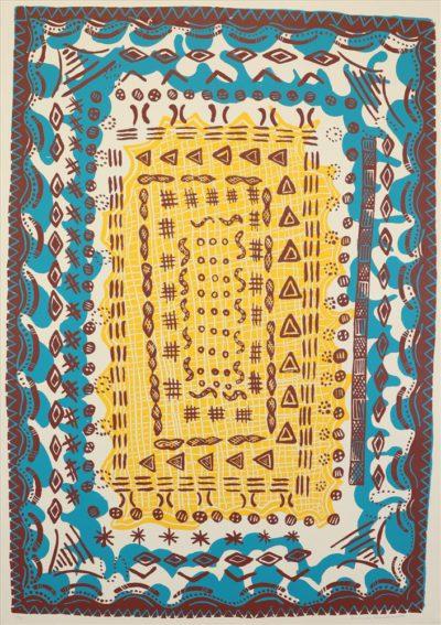 84-16 Miny'tji (Yolŋu Patterns)